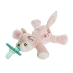 Chupete con peluche WubbaNub® - Itsy Glitsy Fox