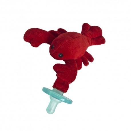 Chupete con peluche WubbaNub - Lobbie Lobster