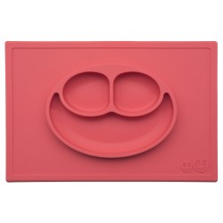 Todo en 1 - Mantel Tazón de Silicona Happy Mat Ezpz™ Blue