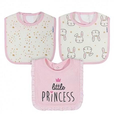 Gerber Set de 3 Baberos Princesa