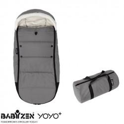 Cubrepiés Footmuff Grey BABYZEN™ Coche YOYO+