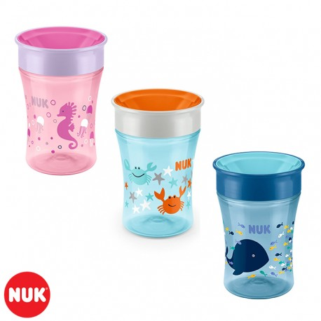 Vaso Easy Learning Magic Cup NUK® 230ml - Color surtido