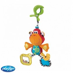 Sonajero Colgante Dingly Dangly Playgro™ Curly the Monkey