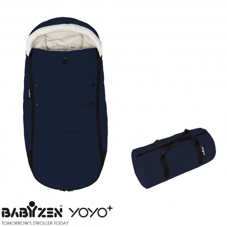 Cubrepiés Footmuff Navy Blue BABYZEN™ Coche YOYO+