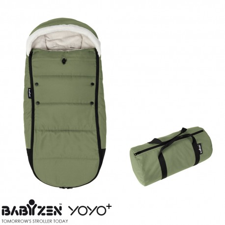 Cubrepiés Footmuff Peppermint BABYZEN™ Coche YOYO+