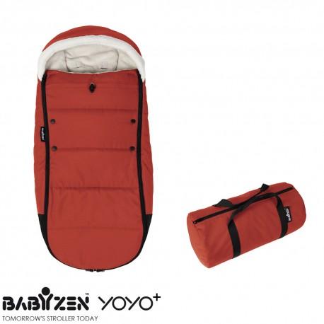Cubrepiés Footmuff Red BABYZEN™ Coche YOYO+