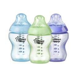 Pack 3 Mamaderas Tommee Tippee Closer to Nature 0m+ Hawaii Nene