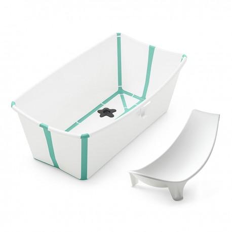Bañera Plegable Stokke® Flexi Bath White Aqua + Reductor