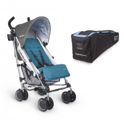 Coche UPPAbaby GLUXE Sebby + Travel Bag