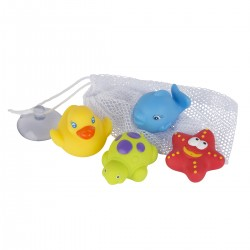 Juguete de Baño Playgro Floating Friends Bath Fun & Storage Set