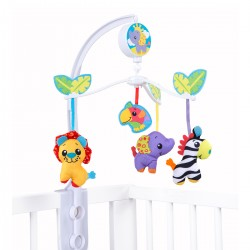 Móvil Musical para Cuna Playgro Jungle Friends Musical