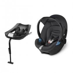 Huevito Aton CBX Comfy Grey + Base-Fix CBX - Grupo 0+